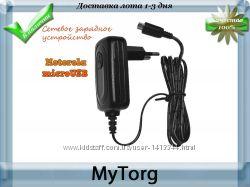 Сетевое зарядное устройство motorola microusb