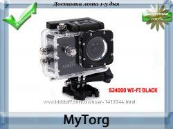 Экшн видеокамера sj4000 wi-fi , full hd