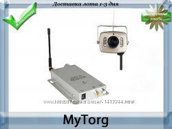 Беспроводная wifi cctv камера 208c с приемником rc 100a
