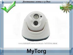 Купольная wifi ip-камера видеонаблюдения с разрешением 720р hd