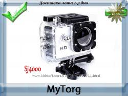 Экшн-камера sj4000 с поддержкой full hd, туристическая камера