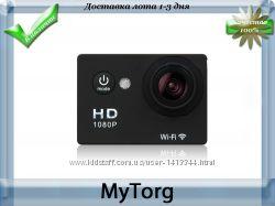 Видеокамера sj4000 wi-fi, экшн камера 1080 full hd