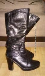 Зимние кожаные сапоги, 37 размера, CANTARINI