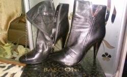 Кожаные натуральные ботинки, Basconi