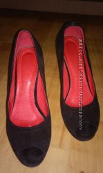 Замшевые  туфли, 38 размера