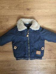 Куртка на мальчика демисезон 3-6 мес, рост 68 см