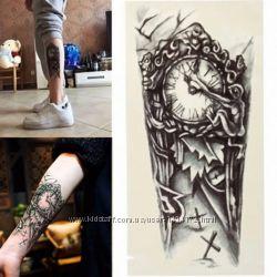 флеш-тату, временные татуировки мужские