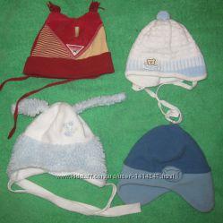 шапочки для малышей по 40грн.