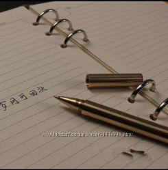 Ручка тактическая латунная глянцевая EDC GEAR.