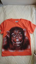 Яркая футболка Topolino на 6-7 лет рост 116 -122 см