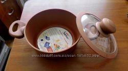 Кастрюля Sacher 2 л . алюминиевая с антипригарным покрытием