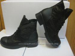 Зимние и демисезонные ботинки из натуральной кожи