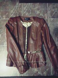 Куртка , материал кожзам