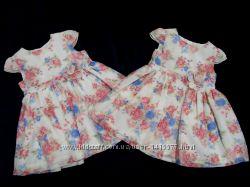 Красивые платья George 0-3 мес. и 3-6 мес. Новые.