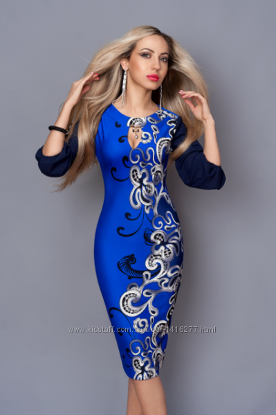 Красивые платья с узорами