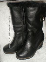 Зимние  сапоги, ботинки женские размер 36 37