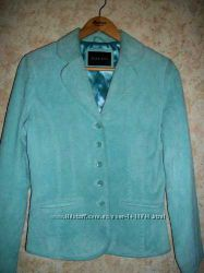 Куртка  пиджак из нат. замши alex co
