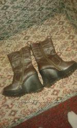 сапоги, ботинки, кожанные, новые, дешево
