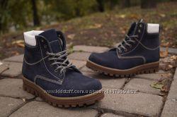 Женские зимние кожаные ботинки Viva Вива