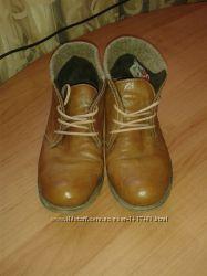 Туфли-Ботиночки Осень-Весна Кожа