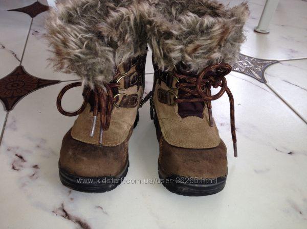 Сапоги зимние Timberland 15 см