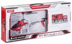 Вертолет на ру Syma S39 Raptor со светом и гироскопом 32. 5 см