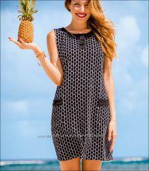 Стильное махровое пляжное платье-сарафан Anita-Германия 2016