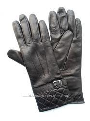 Размеры 6 до 7 удлиненные перчатки из нежнейшей кожи на вязке