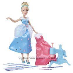 Кукла Золушка с мастерской платьев