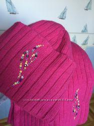 Очень красивый и тёплый комплект, шарф и шапка,