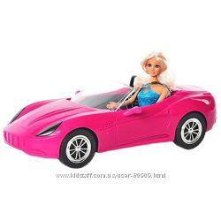 Шикарная и гламурная Кукла DEFA в машинке.  В наличии