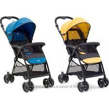 Очень легкие прогулочные коляски Joie Aire Lite и Joie Float. Новинки