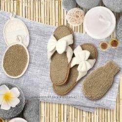 Бамбуковые тапочки  удобная обувь для дома и бани