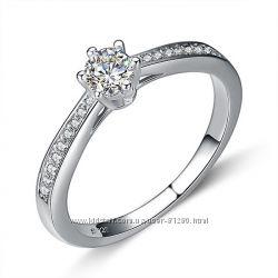 Кольцо , серебро 925