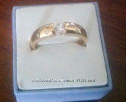 Кольцо, покрытие 18 К золото