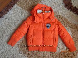 Зимняя куртка Бенетон 6-7 лет