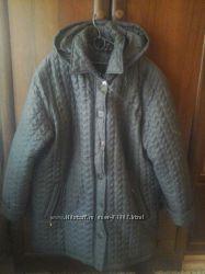Куртка зимняя большой размер