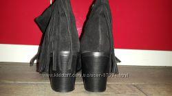 Ботинки, ботильйоны замша Asos