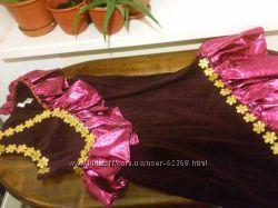 Платье для восточного танца в подарок босоножки