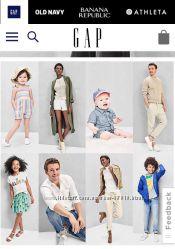 GAP практичная недорогая одежда для всей семьи