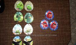 Angry birds 3D карточки