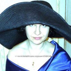 Шикарная женская шляпа Крылья ночи