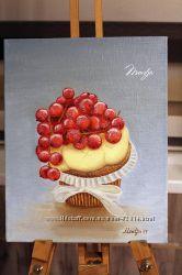 Картина Смородиновый десерт