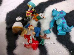 фигурки,  игрушки с  Макдональдс, Дисней и другие