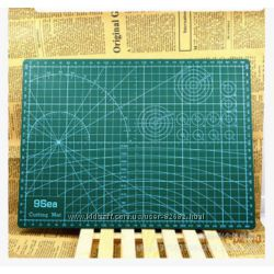 Коврик для резки доска для рукоделия коврик с разметкой макетный коврик