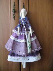 Интерьерная кукла с лавандовым саше