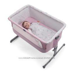 В наличии Детские приставные кроватки Chicco Next2Me