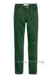 Классные джинсы H&M р. 8 UK, маломерит на 6, недорого.