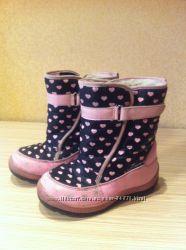 Зимние термо ботиночки b&g, 31 р