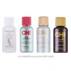 Разные масла для волос CHI и Biosilk